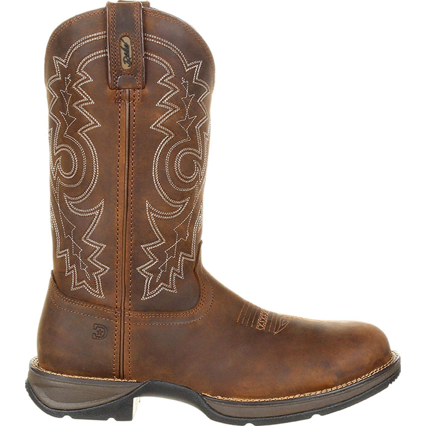8e60f14b757 Durango Rebel Steel Toe Waterproof Western Work Boot Coyote Brown