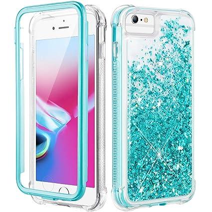 Amazon.com: Caka iPhone 6s Plus Funda, iPhone 6 Plus Glitter ...