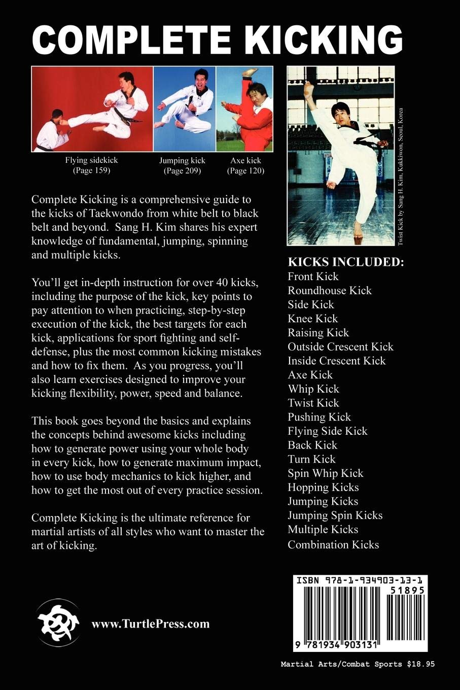 Complete Kicking: The Ultimate Guide to Kicks for Martial Arts ...
