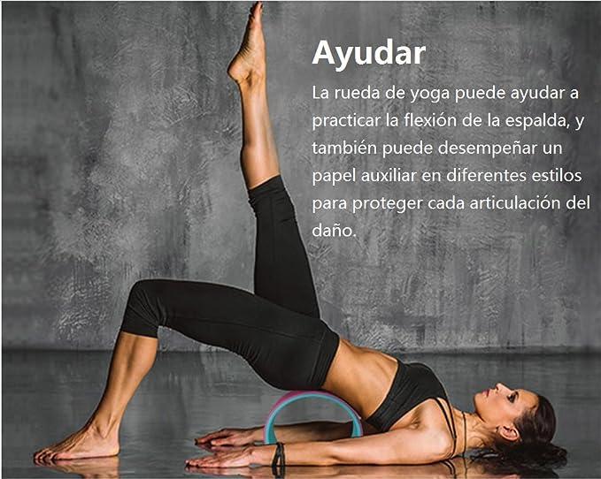 LIJUAN Rueda de Yoga Macarons Suministros de Yoga Ruedas de ...