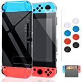 Case compatible with Nintendo Switch, Fit The Dock Station, Protective Accessories Cover Case compatible with Nintendo Switch