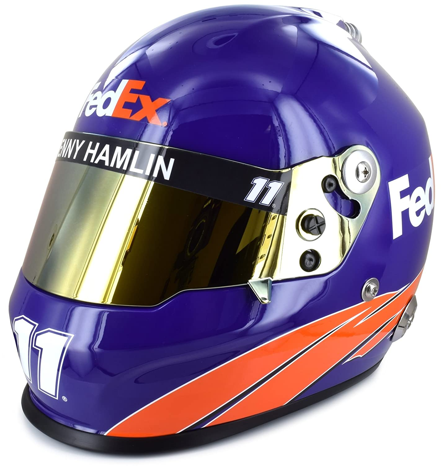 Denny Hamlin Full Size FedEx Collectible NASCAR Replica Helmet