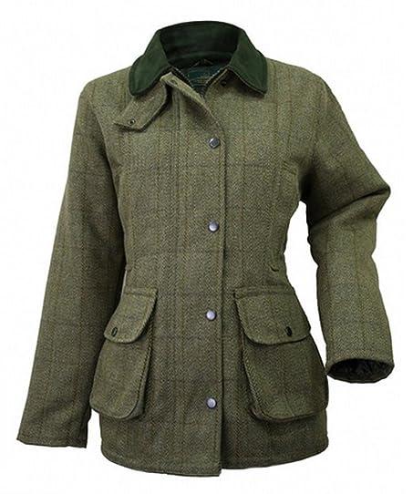 NEW LADIES TWEED JACKET (12): Amazon.co.uk: Clothing