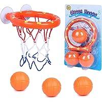 SIMUER Canasta Baloncesto Infantil Bañera,Juguetes de Baño,Ganasta