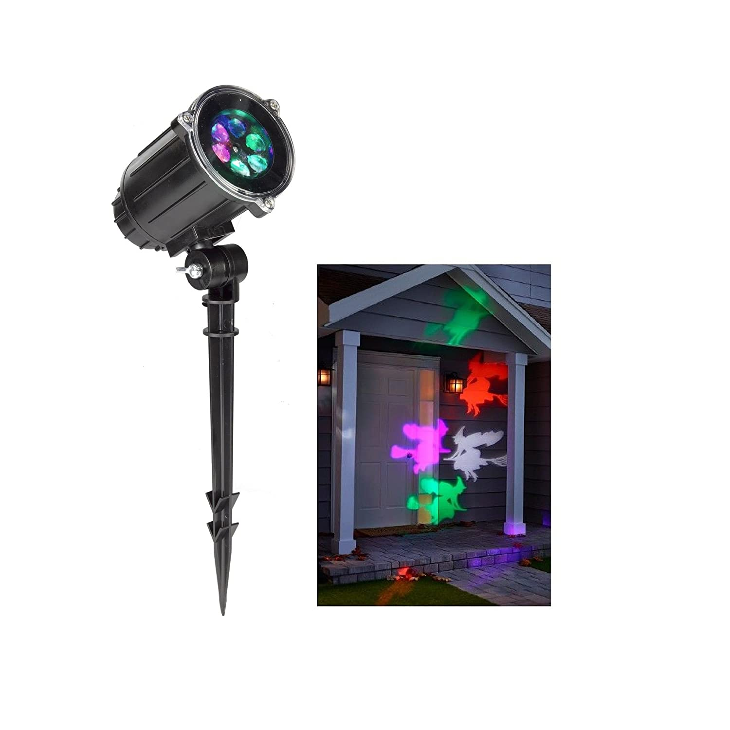 Philips Halloween Motion Projector with Led Bulbs - Witches In Motion LIGHT