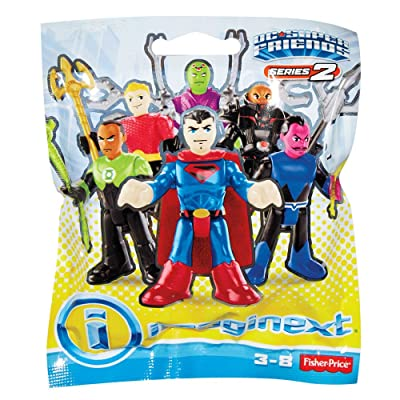 Imaginext DMY00 DC Super Friends Blind Bag, Multi (Packaging May Vary): Toys & Games