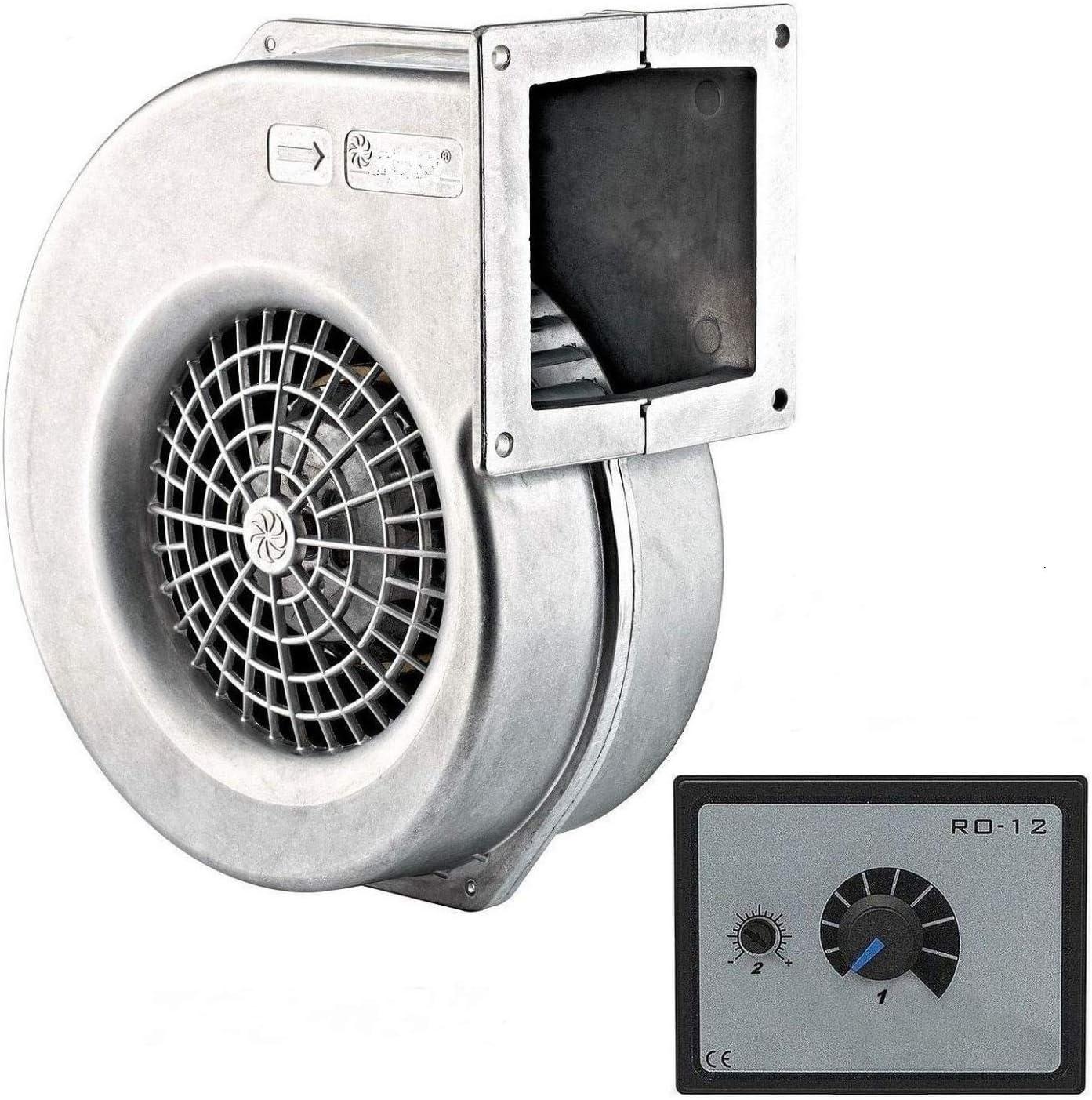 Ventilador 730m3/h con 500W Regulador de Velocidat Ventilación ...