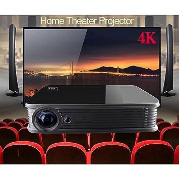4 K UHD Proyector, MDI Android5.1 DLP proyector de cine en casa ...