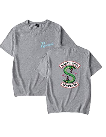 Riverdale Southside Serpents T Shirts Damen Teenager Madchen Mode