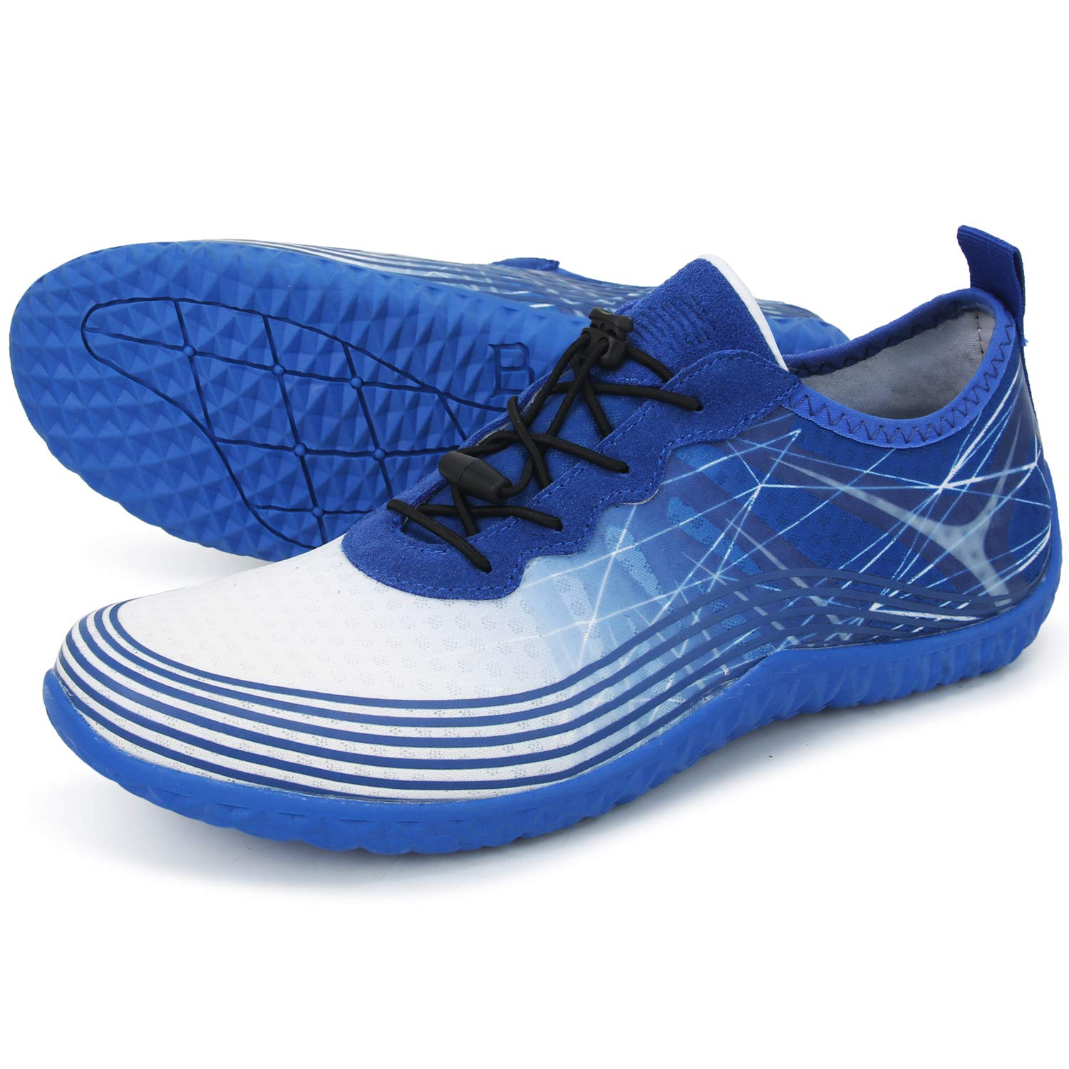 Barerun Womens Mens Water Shoes Quick Dry Barefoot Aqua Shoes for Swimming Diving Surfing Boating Walking Beach Yoga