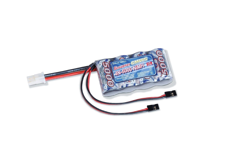 Graupner 98903.4 - Zubehör - NiMH IB 4N-5000 G2/JR Intellect
