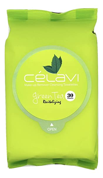 Celavi Makeup Remover Cleansing Wipes Removing Towelettes 2 Packs - 60 Sheets (Honey) Bliss Fat Girl Sleep Soothing Overnight Cream, 6 oz