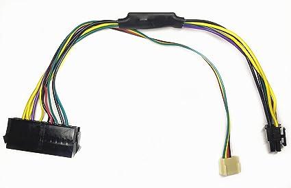 Amazon com: EZSync ATX PSU (24-Pin) to HP Motherboard (6-Pin