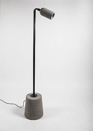 bentu hormigón hormigón lámpara lámpara de pie Lámpara de ...
