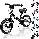 Kids Balance Bike Child Learning Training Cycle 10 12 inch Lightweight Children Boys Girls Running Safety First Starter Bike Bicycle