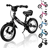 Kids Balance Bike Child Learning Training Cycle 10 12 inch Lightweight Children Boys Girls Running Safety First Starter Bike Bicycle