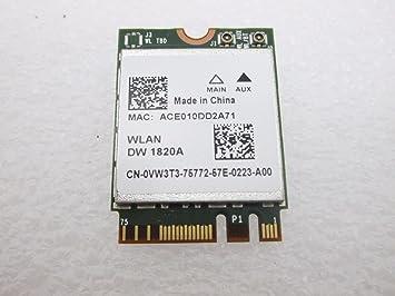 Amazon.com: DELL vw3t3 WLAN DW 1820 A tarjeta wifi ...