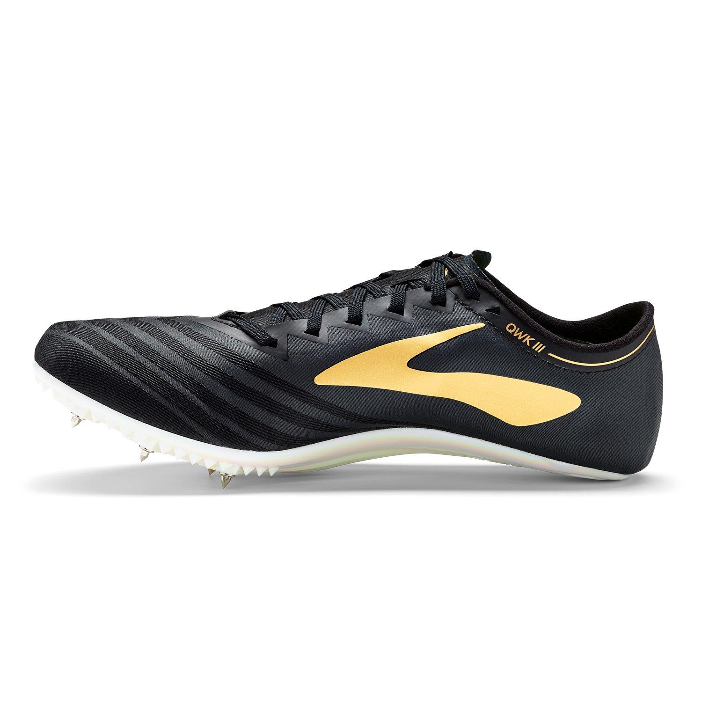 Brooks Qw-k V3, Zapatillas de Running Unisex Adulto 44 EU Multicolor (Black/Gold/Iridescent 058)