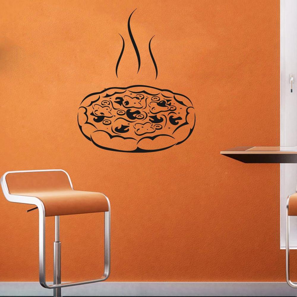 Wall Decal Window Sticker Italy Sticker Food Pizza Pasta  Italian Cuisine t558
