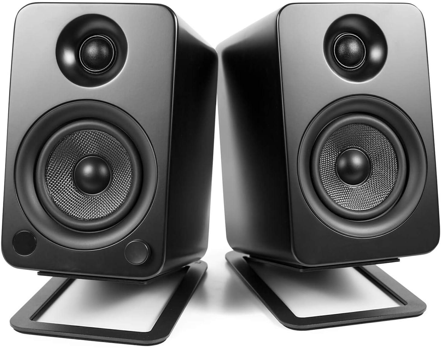 Kanto S4/Bureau Supports denceintes pour haut-parleurs Midsize