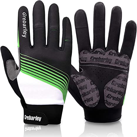 Breathable Winter Cycling Gloves Full Finger Outdoor Sports MTB Bicycle Gloves