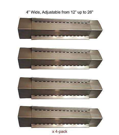 Barbacoa Funland (Pack de 4) ajustables de acero inoxidable ...