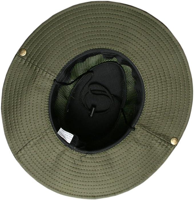Accessoryo - 58cm Estilo Recompensa Sombrero De Safari En Verde ...