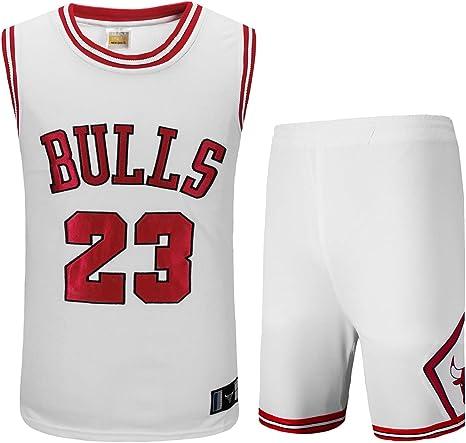 Basport Traje de Ropa de Baloncesto Masculino NBA Bulls Michael ...