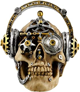 Steampunk Techno Talk Skull small or large Ornament Nemesis Now New Boxed