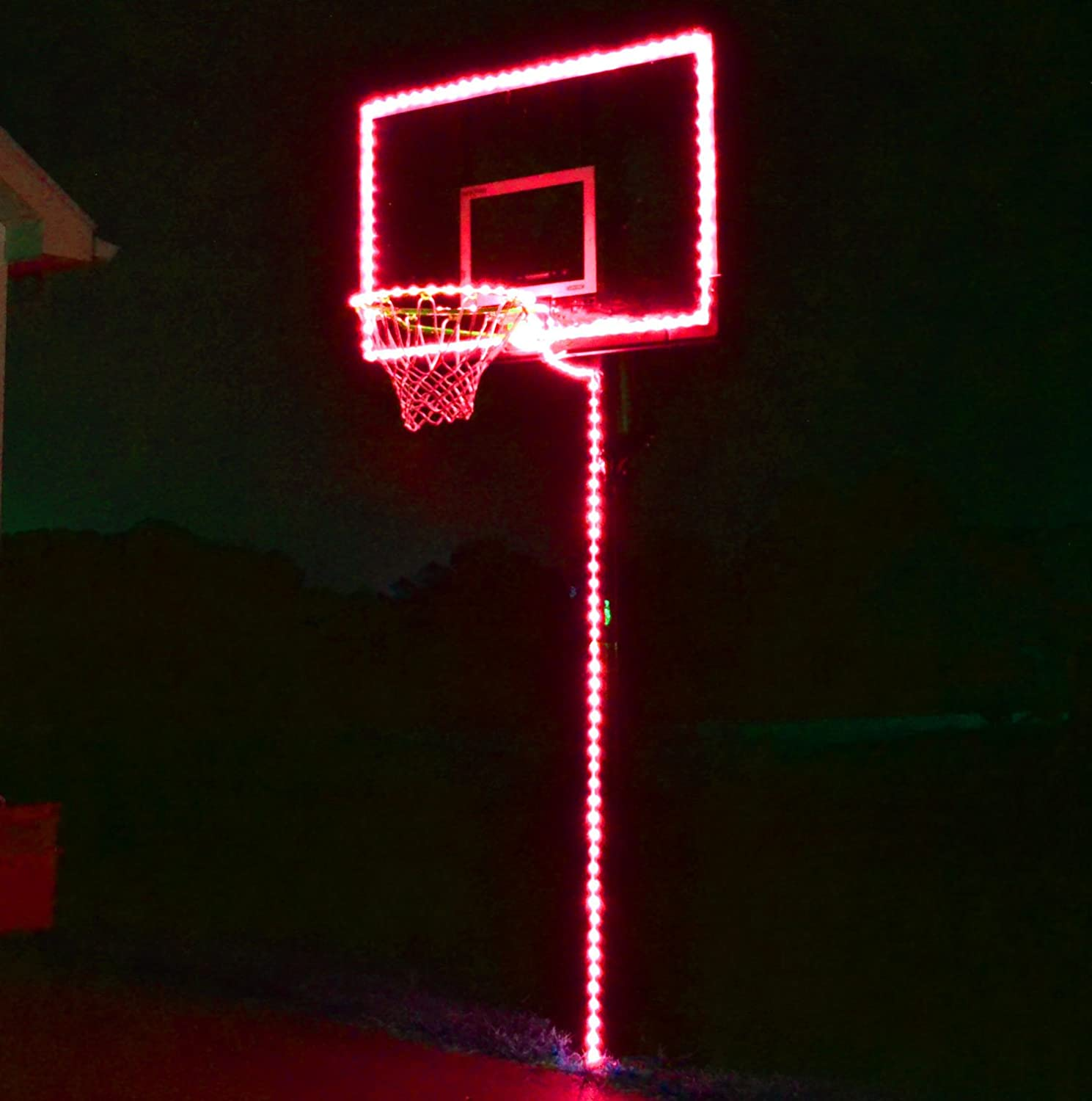 GlowCity Light Up Basketball Hoop Lighting kit(Light Up Basketball Not Inlcuded)