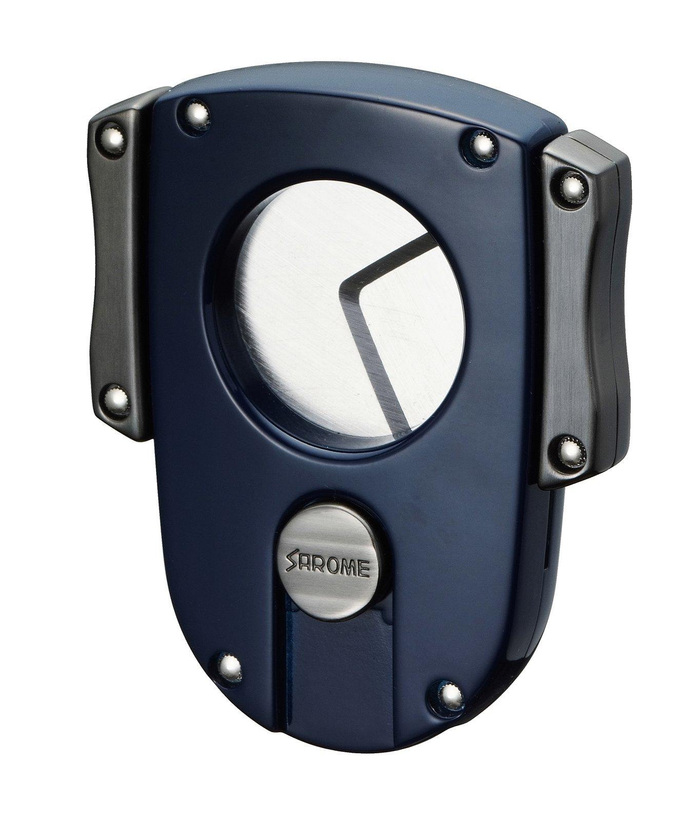 Sarome Metal Cigar Cutter EXCT2-03 Blue