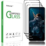 (3 Pack) Beukei for Huawei (Honor 20) and Huawei (Nova 5T) Screen Protector Tempered Glass,Full Screen Coverage, Anti Scratch, Bubble Free