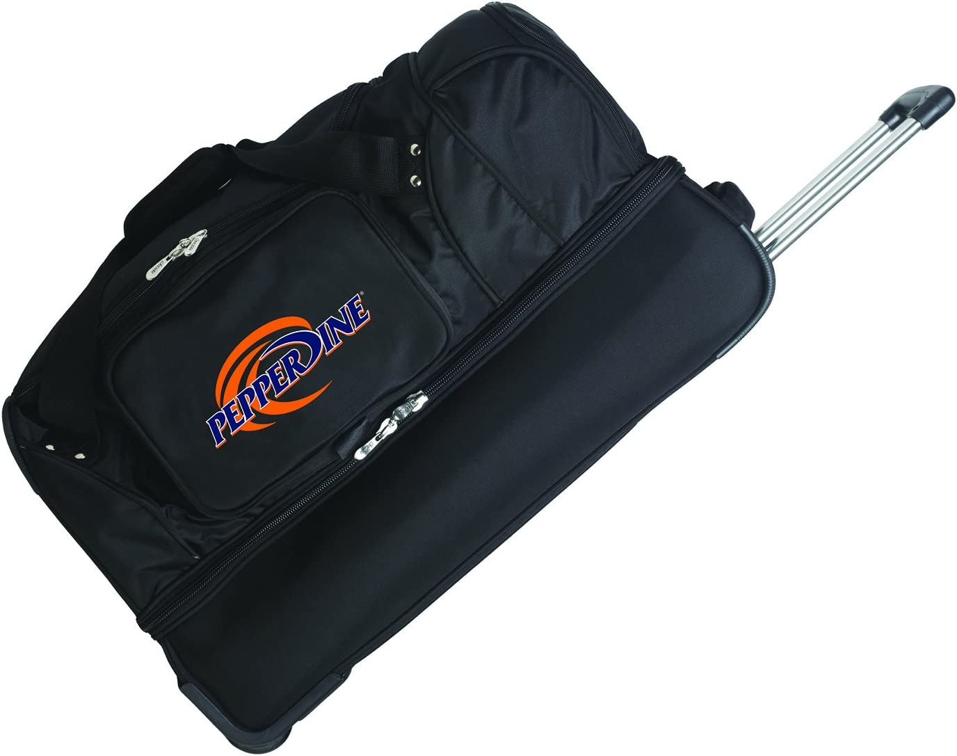 NCAA Pepperdine Waves Rolling Drop-Bottom Duffel Bag 27-inches