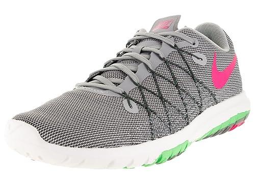 separation shoes e2f83 38e29 Nike Women s WMNS Flex Fury 2 Running Shoes, (WLF Grey Hypr Pnk-