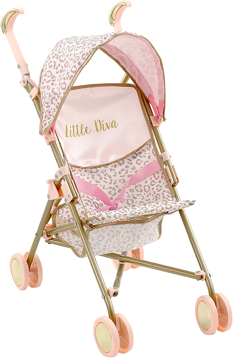 Little Diva Doll Stroller Role Play Toy