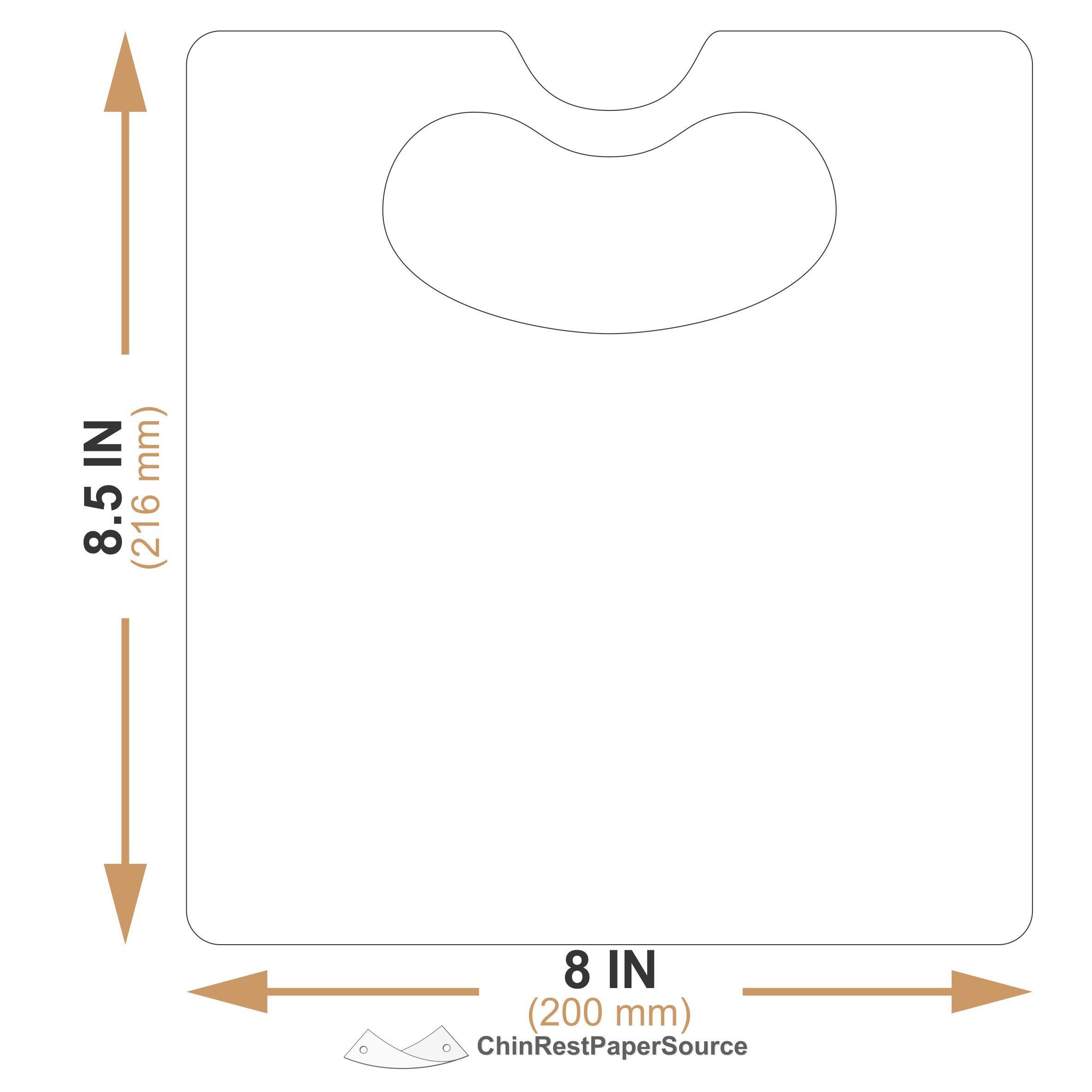 Slit Lamp Breath Shield (PETG (thin shield), Universal Large 1)