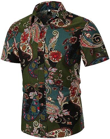 POLP Polos Manga Corta Hombre Camisa Manga Corta Hombre Camisa Estampada Verano Hombre Camisetas Casuales 3XL M/L/XL/XXL/XXXL: Amazon.es: Ropa y accesorios