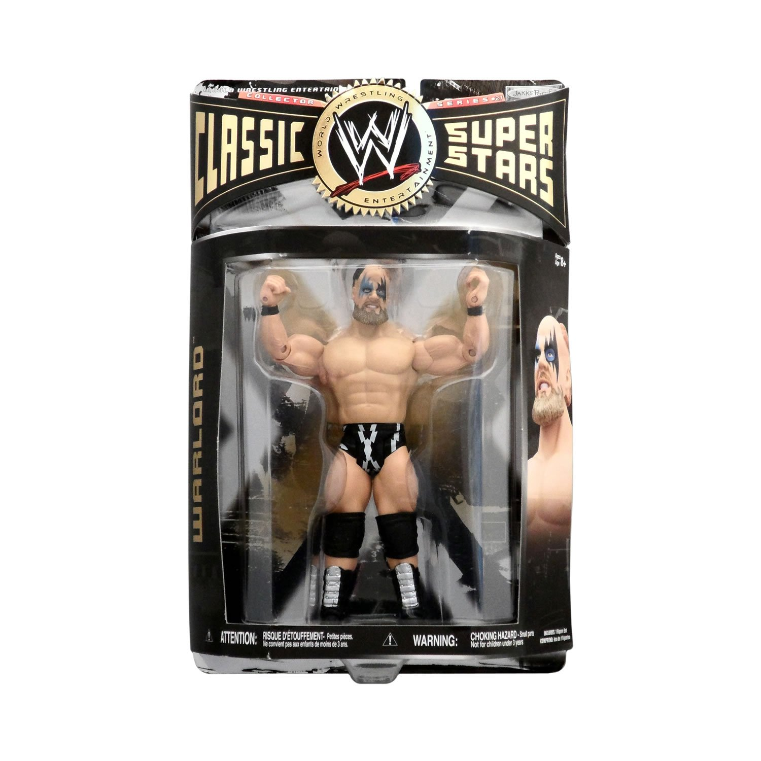 WWE Wrestling Classic Superstars Series 27 Action Figure Warlord [Singles Attire]