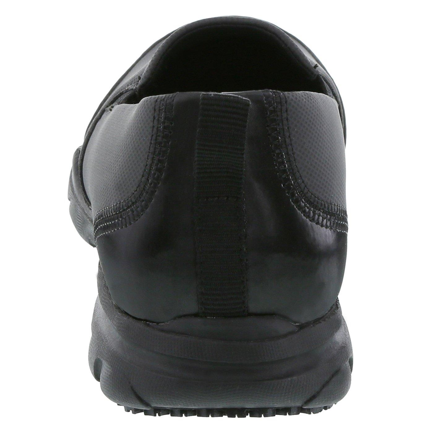 safeTstep Slip Resistant Women's Black Women's Camina Slip-On 10 Wide by safeTstep (Image #3)
