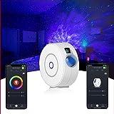 PINKK Galaxy Star Projector Laser Star Projector with LED Nebula Galaxy for Room Decor, Smart App Voice Control Star Night Li