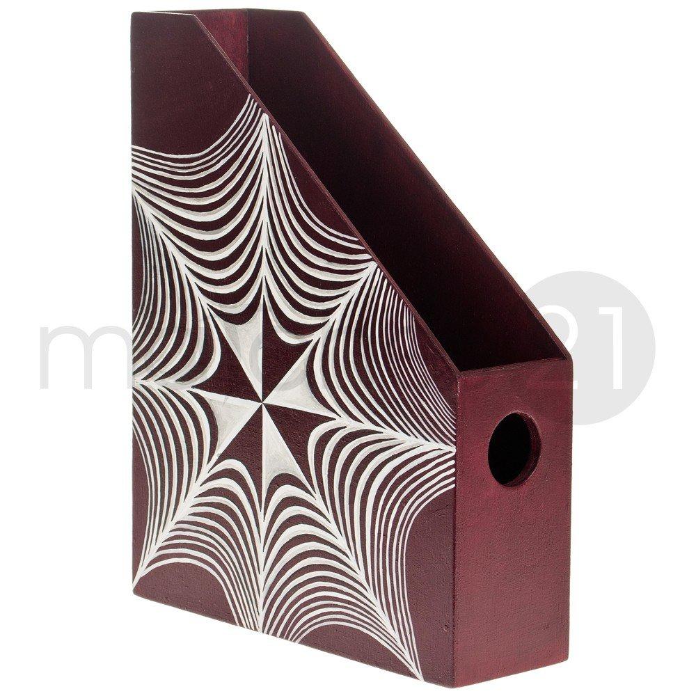 Stehsammler holz  matches21 Holzordner Stehsammler 23,5x7x32 cm Holz Bausatz f ...