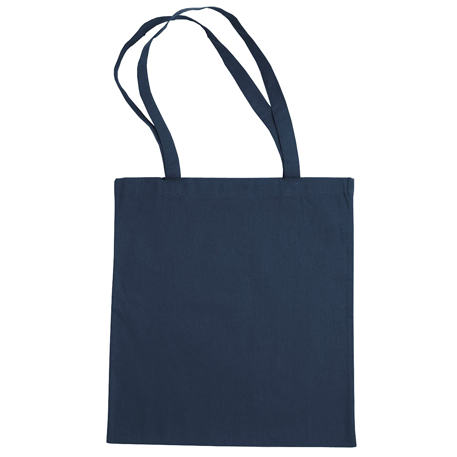 Jassz Bags'Beech' Cotton Large Handle Shopping Bag/Tote (One Size) (Petrol) Bags By Jassz UTBC2550_40