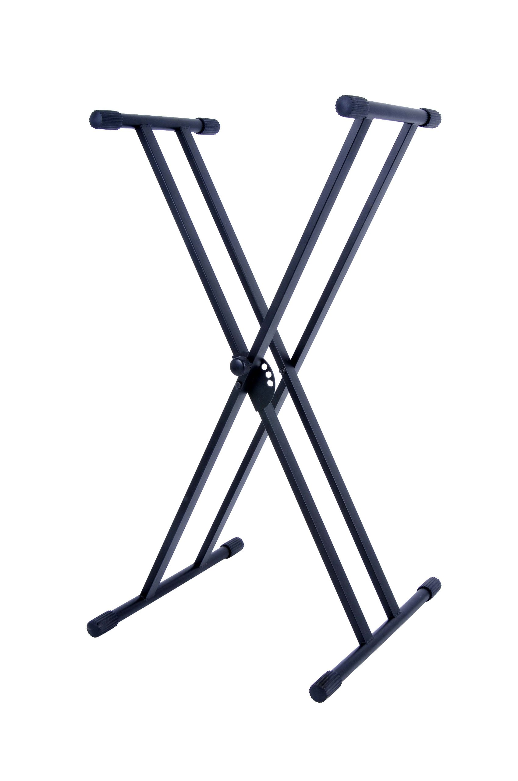 Stage Rocker Powered by Hamilton SR524200 Double X Style Keyboard Stand - Black
