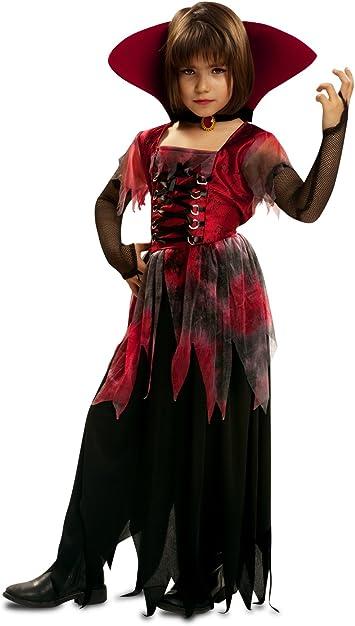 My Other Me - Disfraz de vampiresa gótica, para niños de 5-6 años ...