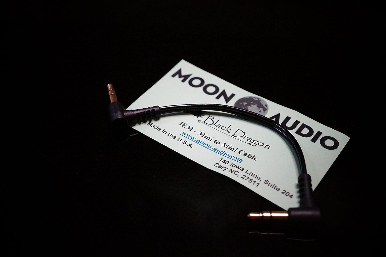 Moon Audio Black Dragon 3,5 mm a 3,5 mm 3,5 mm a 3,5 mm Cable de actualización de Repuesto para Amplificador de Auriculares: Amazon.es: Electrónica