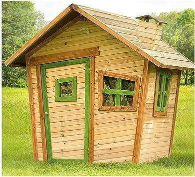 AXI – Casa Casa de madera Playhouse Alice Juegos de exterior jardín infantil niños: Amazon.es: Bricolaje y herramientas