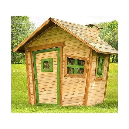 AXI – Casa Casa de madera Playhouse Alice Juegos de exterior jardín infantil niños