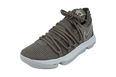 hot sale online 4c19c ca4d8 Nike Zoom Kd10 Mens Basketball Trainers 897815 Sneakers Shoes (UK 10 US 11  EU 45, Dark Grey Reflective Silver 005)