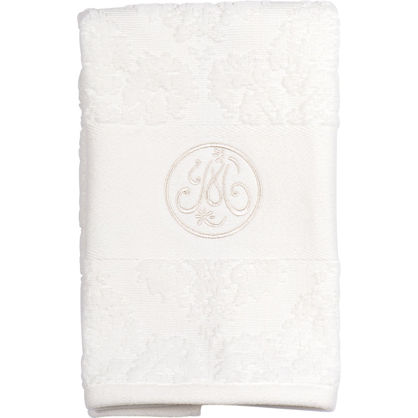 Mathilde M–romántico estilo francés parisino servilletas en algodón, algodón, Broderie, Face Towel 30 x 50 cm