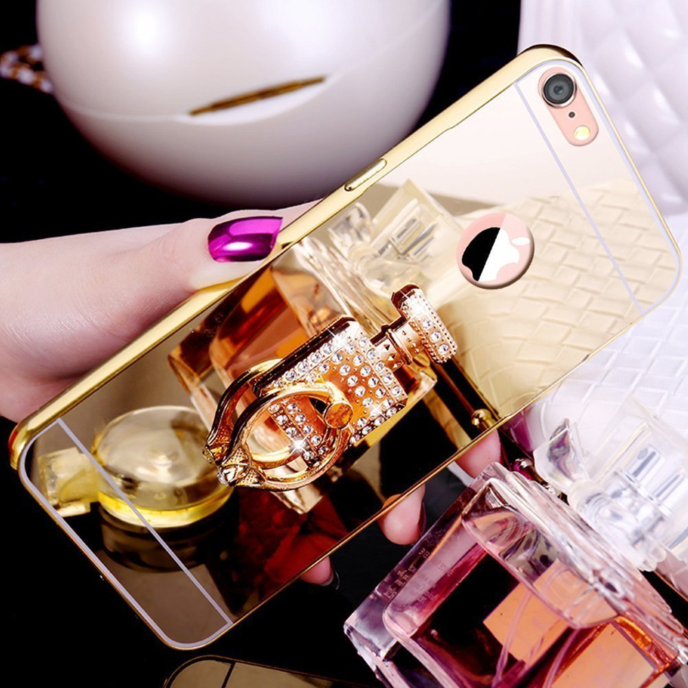 iPhone 6S Plus Case, iPhone 6 Plus Ultra Slim Silicone Cover,Felfy Cover for iPhone 6 Plus/6S Plus Soft Silicone Case, Bling Glitter Shock-Absorption Ultra Slim Transparent Silicone Case Ultra Slim Soft Gel Cover TPU Case Protective Case Crystal Clear Cove